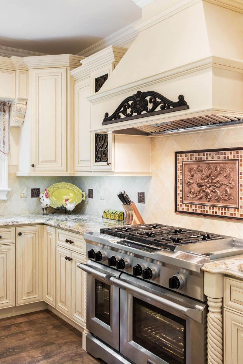 Home Cabinet Westbury A7 Style Creme Maple Glazed Classic Kitchen