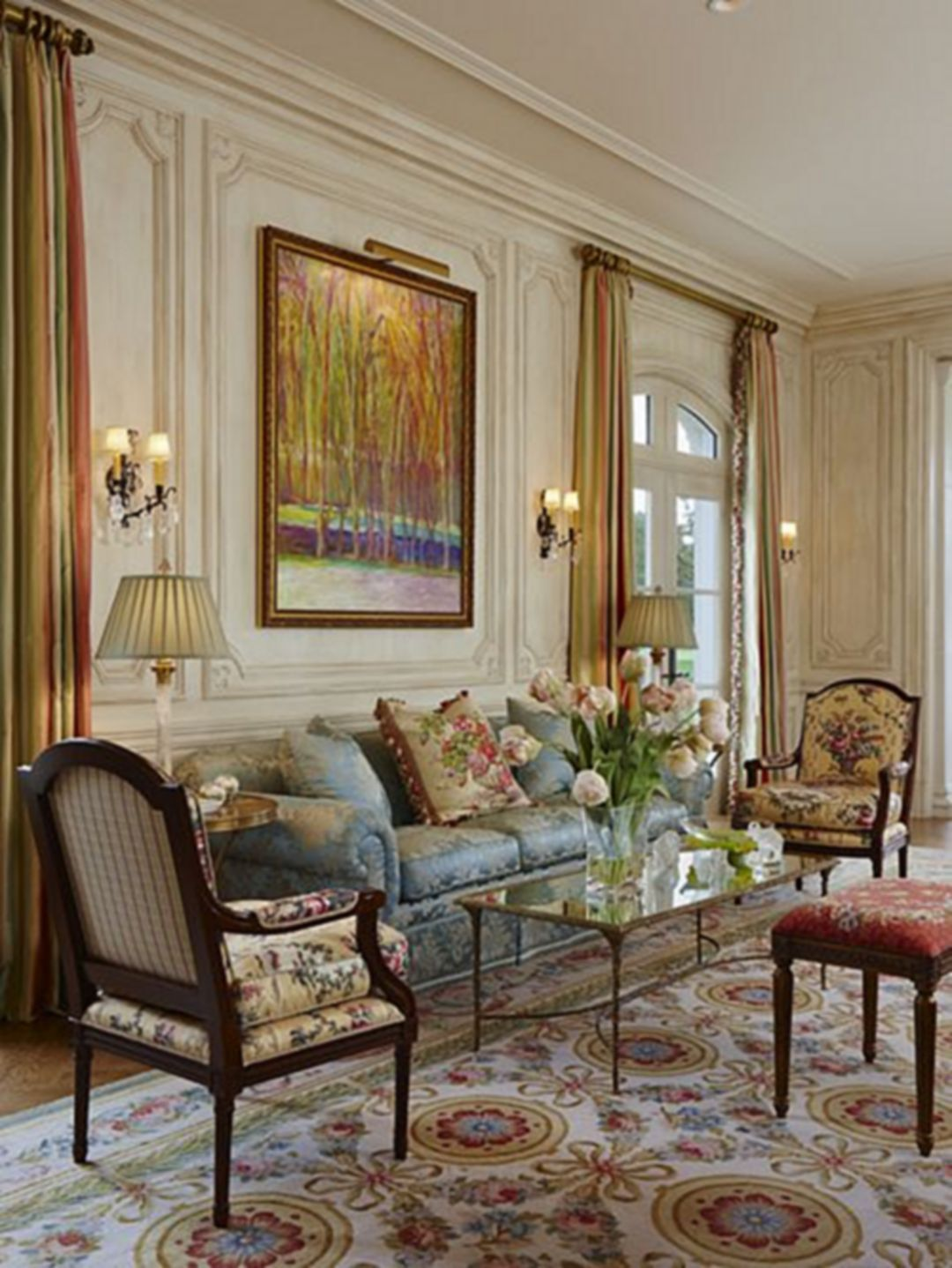 Lovely 30 Gorgeous French Style For Awesome Living Room Ideas Living Room Decor Traditional French Country Living Room Country Living Room Living room ideas traditional