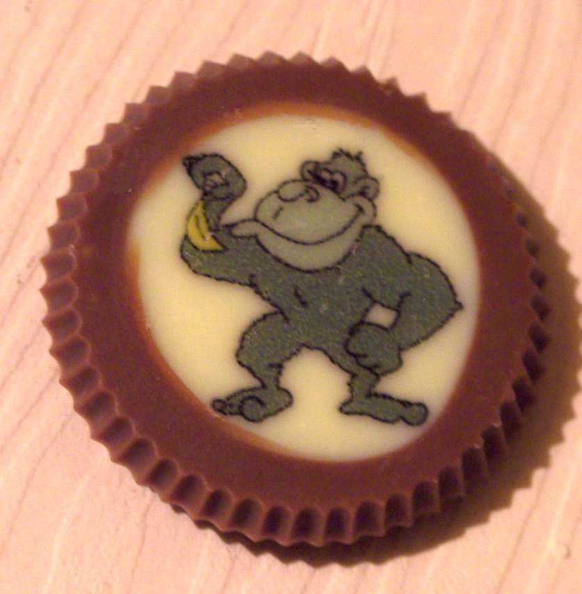 Gorilla Favour 2  www.rocksonchocs.co.uk