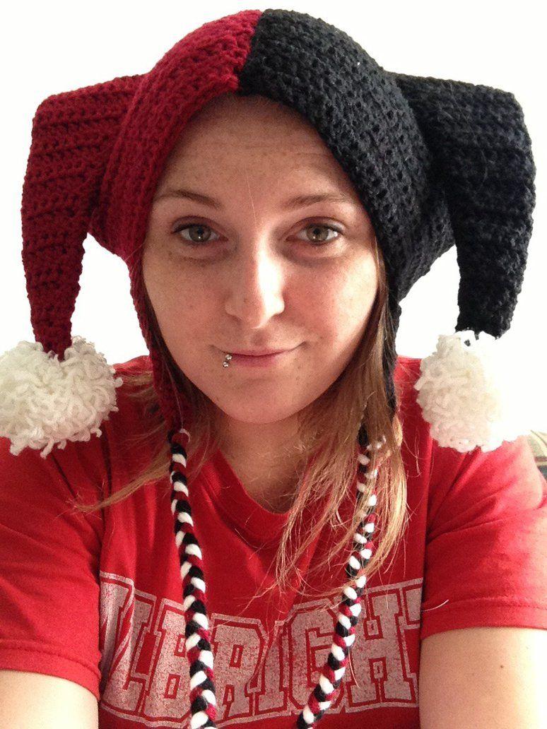 Harley Quinn crochet hat | Crochet Projects | Pinterest | Harley ...