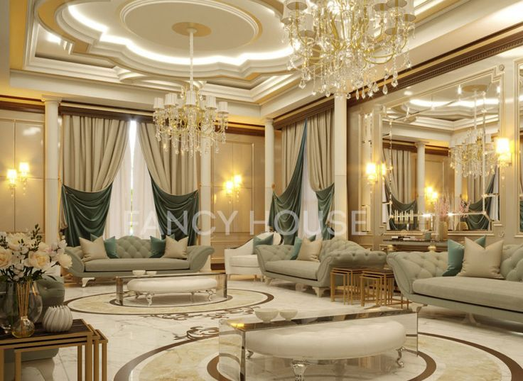 Luxury majlis interior design of luxury house in diubai traditional arabic sitting in new classic style living rooms interior design dubai pinterest