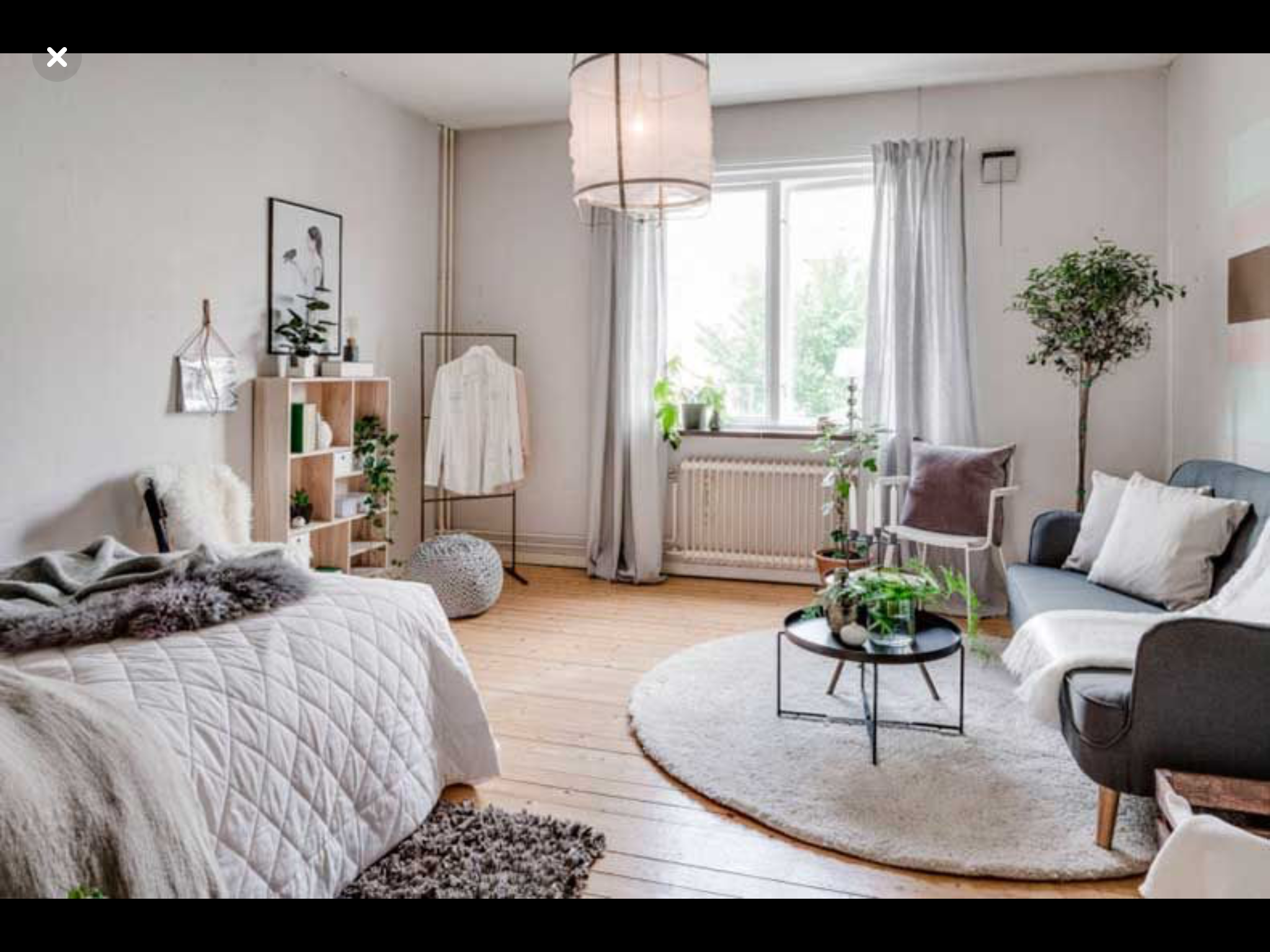Tiny One Room Apartment In 2019 Minimalist Studio