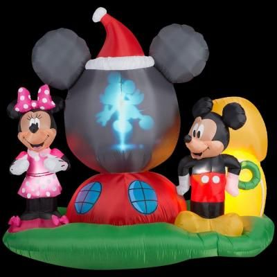 Gemmy 65 ft H Panoramic Projection Inflatable Mickey Mouse\u0027s