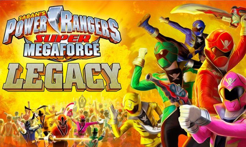 Power Rangers Super Megaforce Legacy Power Rangers The Official Power Rangers Web Power Rangers Super Megaforce Power Rangers Games Power Rangers Megaforce