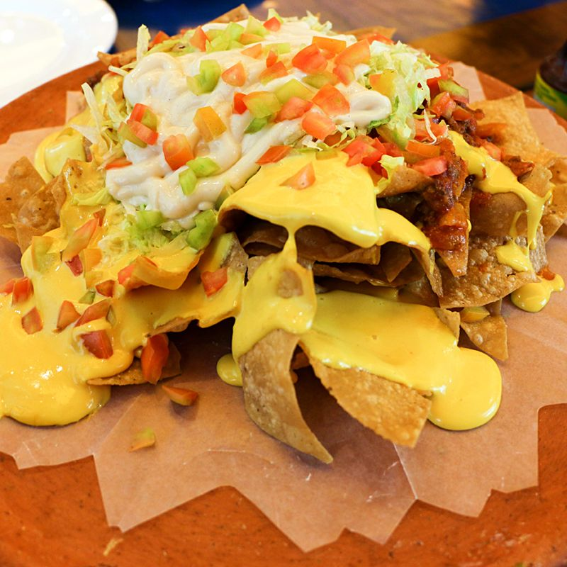 Nacho Supremo From Moon Cafe Mexican Restaurant  Ayala -1646