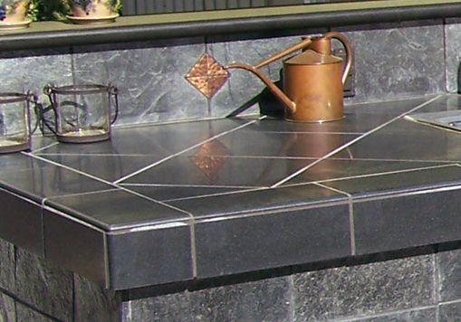Mexican Tile Kitchen Countertops | Tile Countertop 04