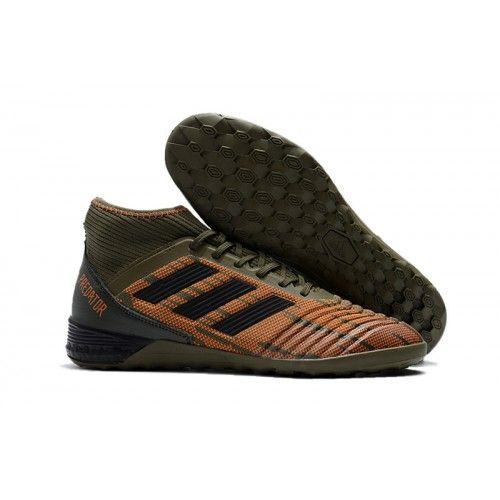 7c22f5da Zapatillas de fútbol sala Outlet adidas Predator Tango 18.3 IC Grises  Naranjas Online