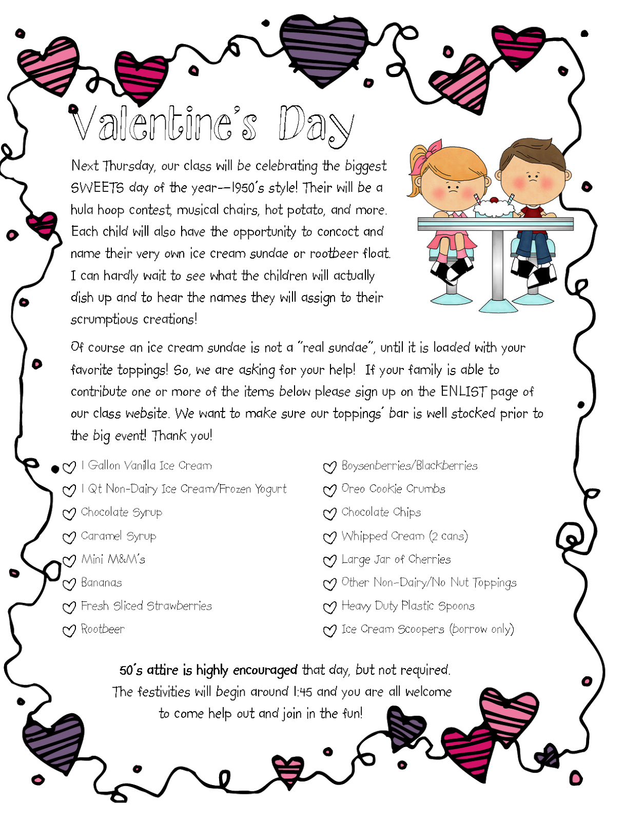 Sailing Through 1st Grade Our 1st Grade Valentine S Party