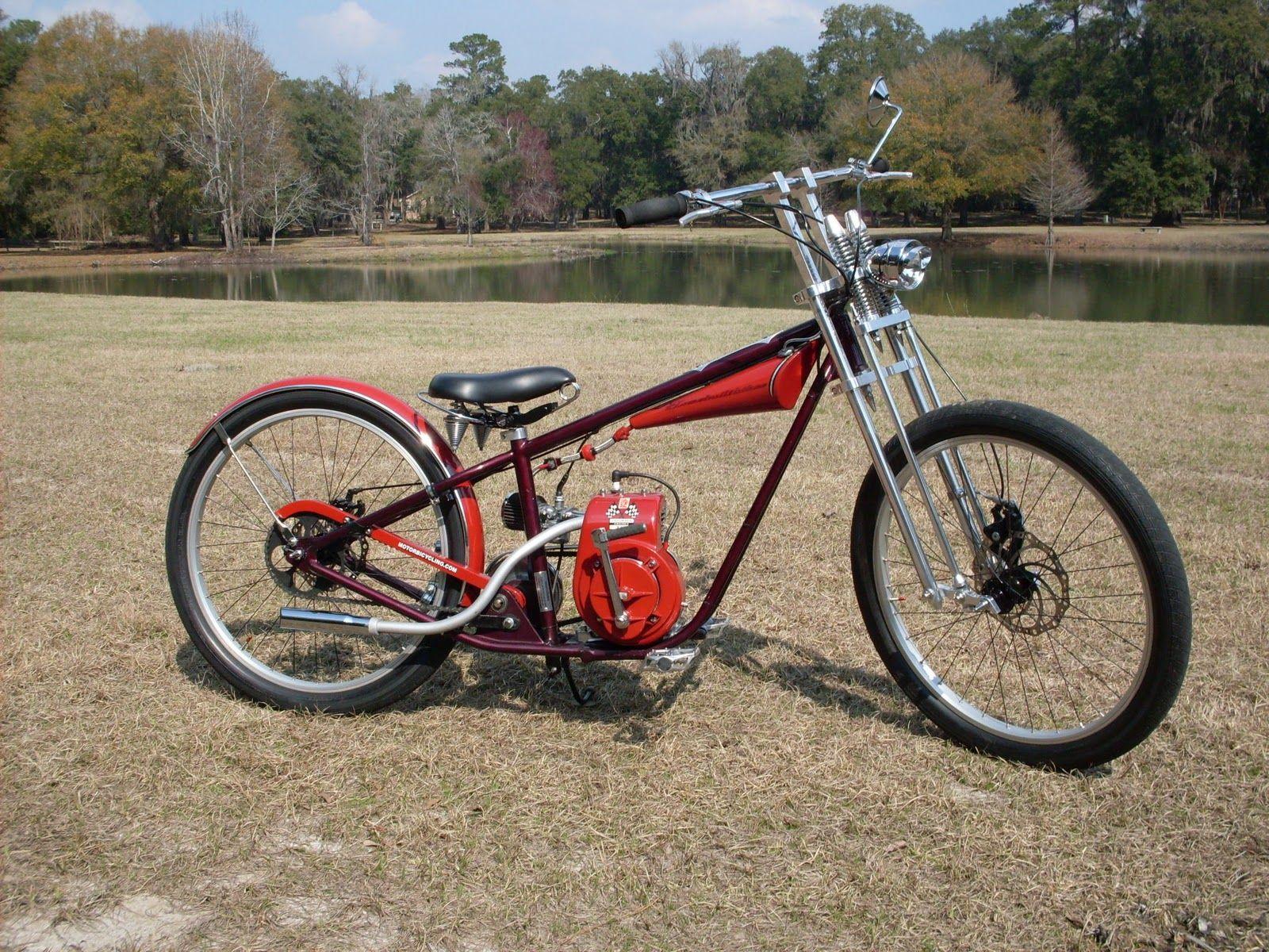 Motorized Bicycle | AtomicZombie Bikes, Recumbents, Trikes