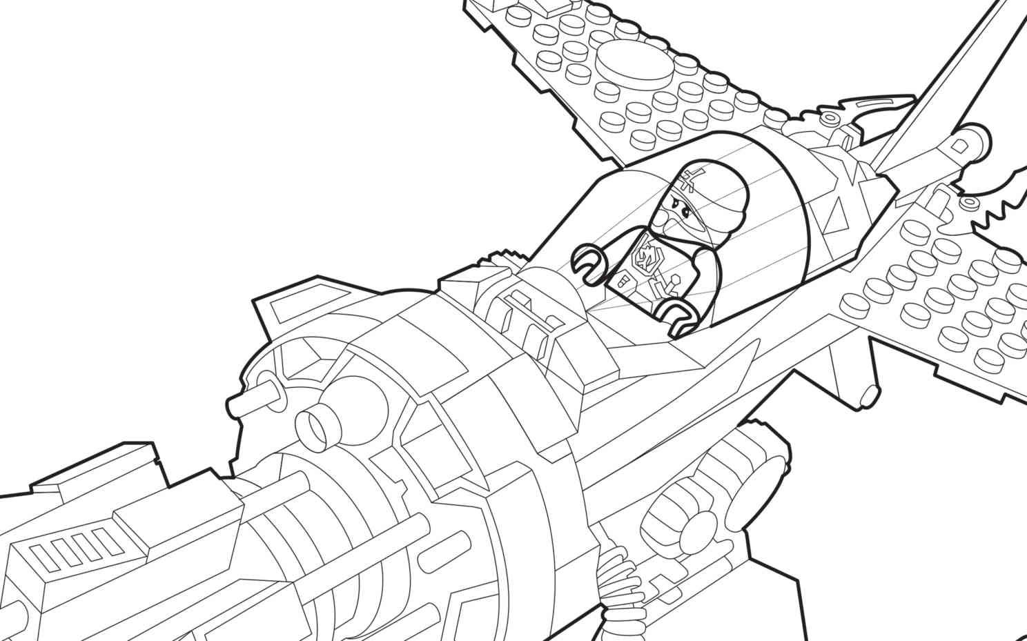 LEGO Ninjago 70747 coloring sheet LEGO Coloring Sheets