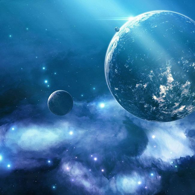 Planet Moon Space Star In 2020