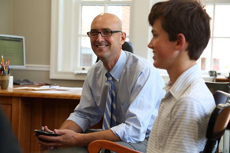 "Read Head of School Dan Scheibe's ""Head's Blog""."