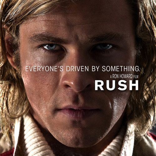 Rush Poster with Chris Hemsworth -- Director Ron Howard reveals that filming his Formula 1 drama has been like a cross between Apollo 13 and Backdraft. -- http://wtch.it/SM5Gs