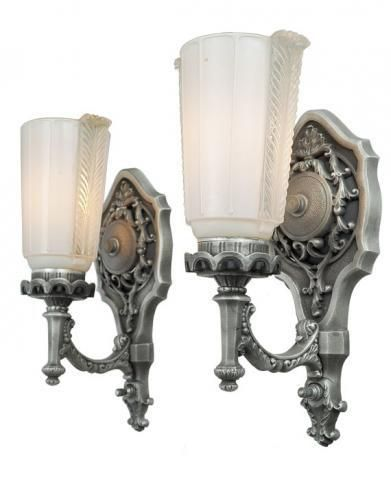 Lovely Pair Of 1920 Edwardian Wall Sconces Modernism Sconces Wall Sconces Modern Sconces
