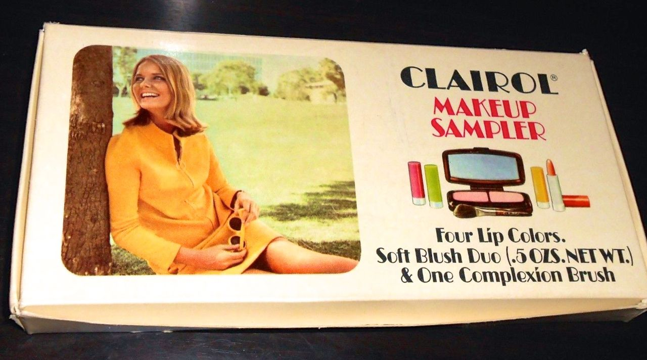 Clairol Makeup Sampler, 1968 (With images) Clairol