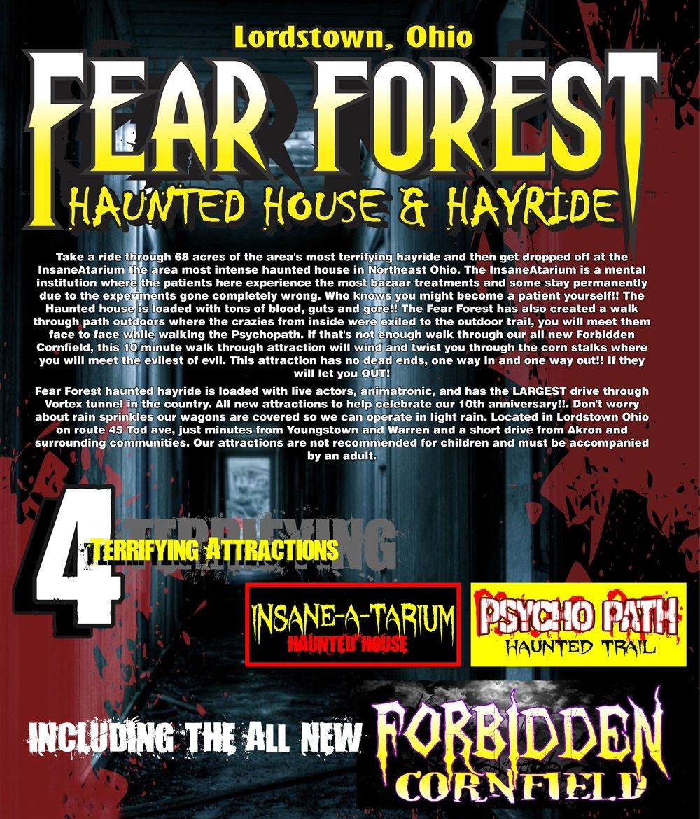 Haunted Places In Pa Halloween: Haunted Houses In Northeast Ohio