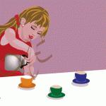La niña jugando a los cacharritos, #dibujos #dibujosgraficos #dibujosgraficosinfantiles, #dibujosgraficosniños,  #graficos #infantiles, #niños, #dibujosinfantiles, #dibujosniños,  http://www.dibujosgraficos.me-design.es