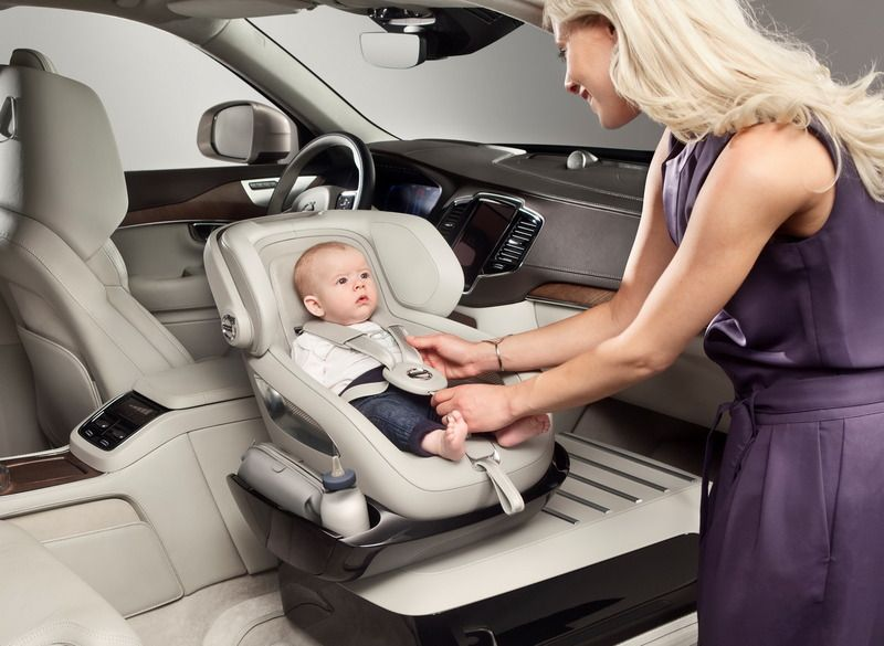 volvo reinvents the child car seat and wow