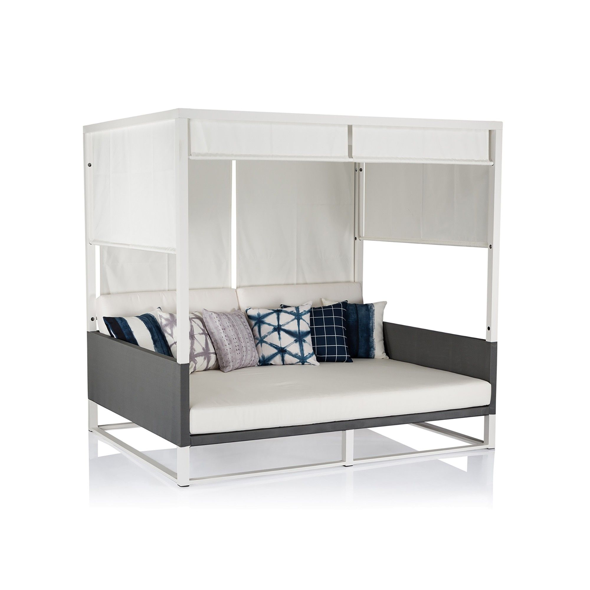 Maldive Outdoor Canopy Daybed | Daybed canopy, Canopy ... on Living Spaces Outdoor Daybed id=53242