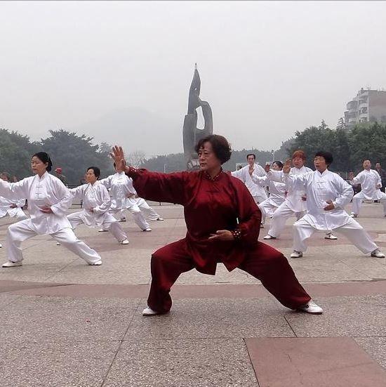 Tai chi chuan in China