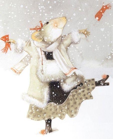 vera mouse image | Vera The Mouse Artist Marjolein Bastin | Christmas Spirit
