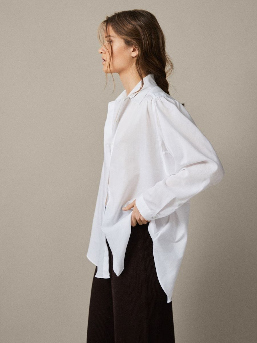 view all shirts blouses collection women massimo dutti