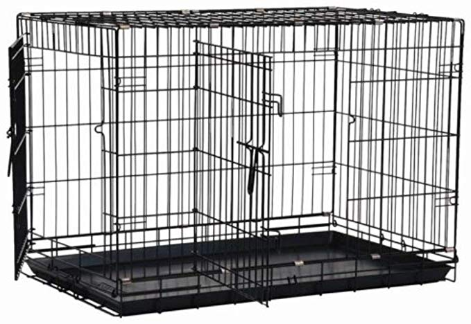 Amazon Com Precision Pet By Petmate 2 Door Great Crate With Precision Lock System Wire Dog Crate 6 Sizes With Images Dog Crates For Sale Wire Dog Crates Large Dog Crate