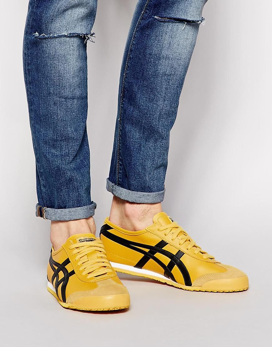 reputable site eeda4 797dd Image 1 of Onitsuka Tiger Mexico 66 Leather Sneakers ...