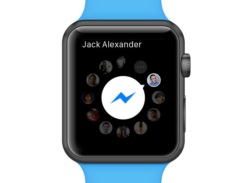 Facebook Messenger for Apple Watch Black friday stores
