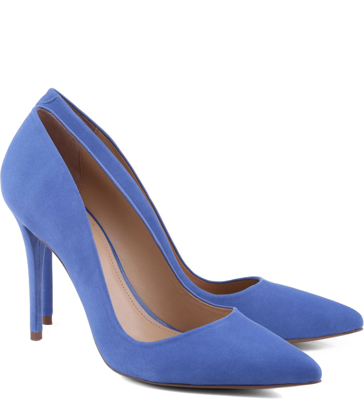 3aee977c15 Scarpin Nobuck Azul