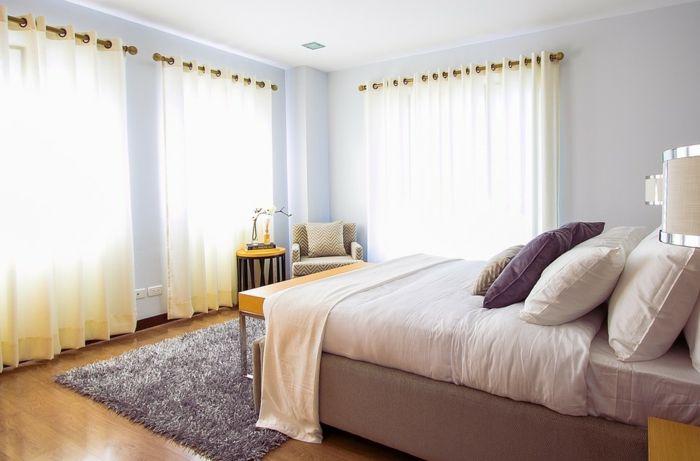 1001 ideas sobre cortinas modernas y elegantes 2017 2018 for Cortinas habitacion matrimonio