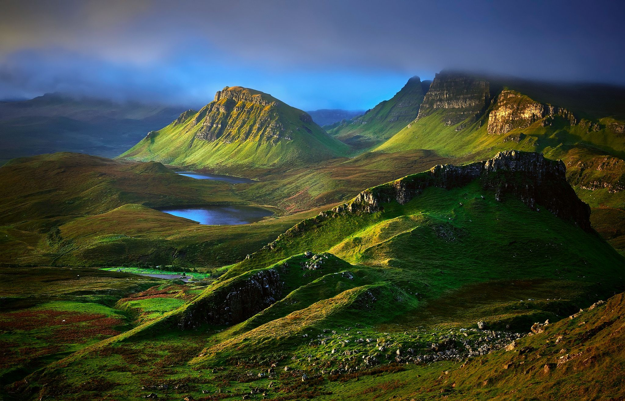 Terre nature paysage highlands isle of skye cosse hill for Haute isle 95