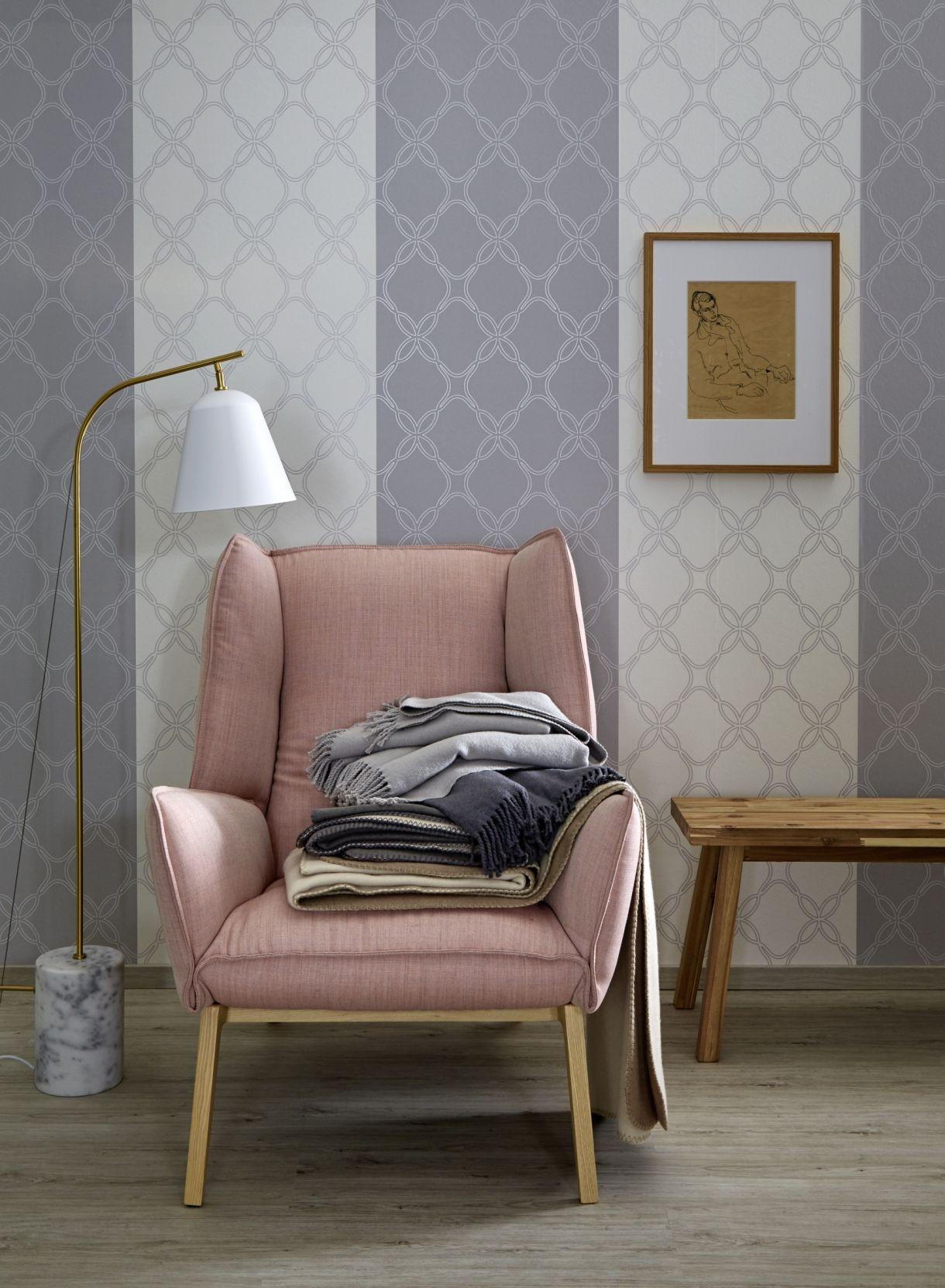 Schöner Wohnen De zeit für einen tapetenwechsel schöner wohnen kollektion rosa