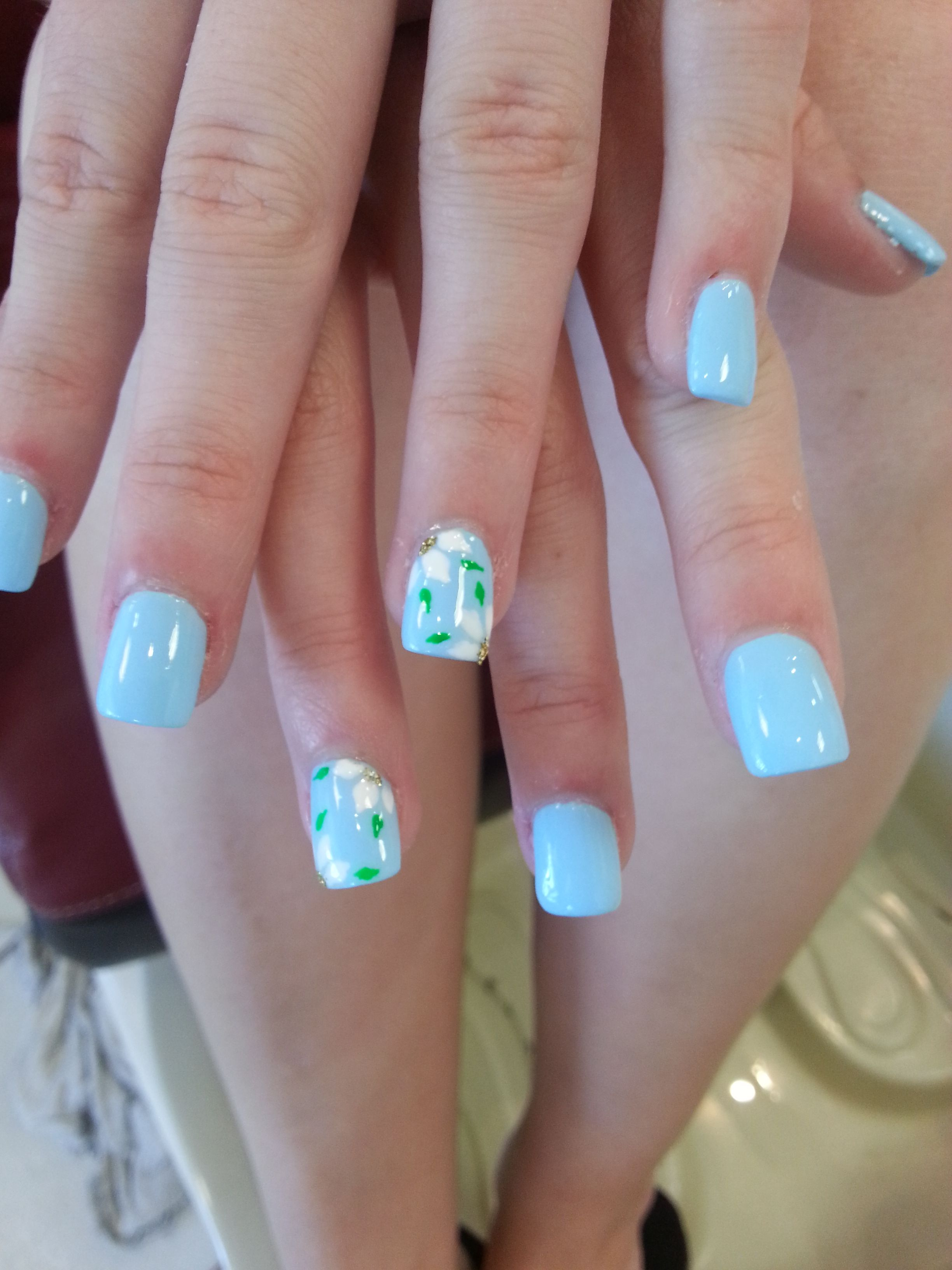 Acrylic Nails For Kid S Nails Kidsnails Flowernails Nails For Kids Nail Designs Summer Nail Art For Kids