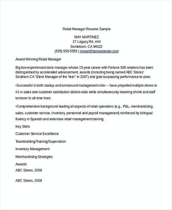 Retail Manager Job Resume , Bank Branch Manager Resume , This Bank - retail manager resume skills