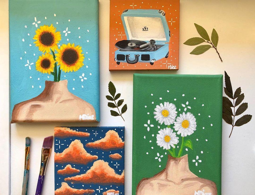 Tik Tok Paintings
