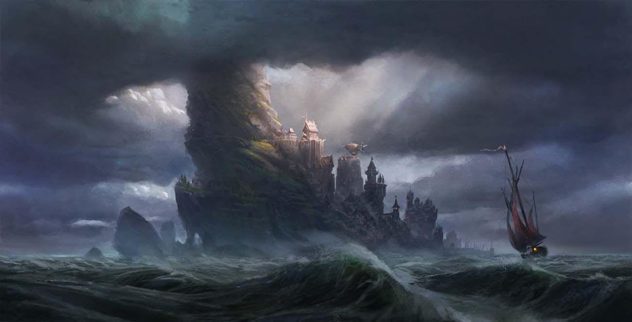 Картинки по запросу storm digital art