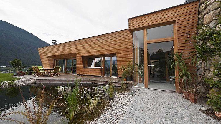 Brunner House by Norbert Dalsass house Pinterest House
