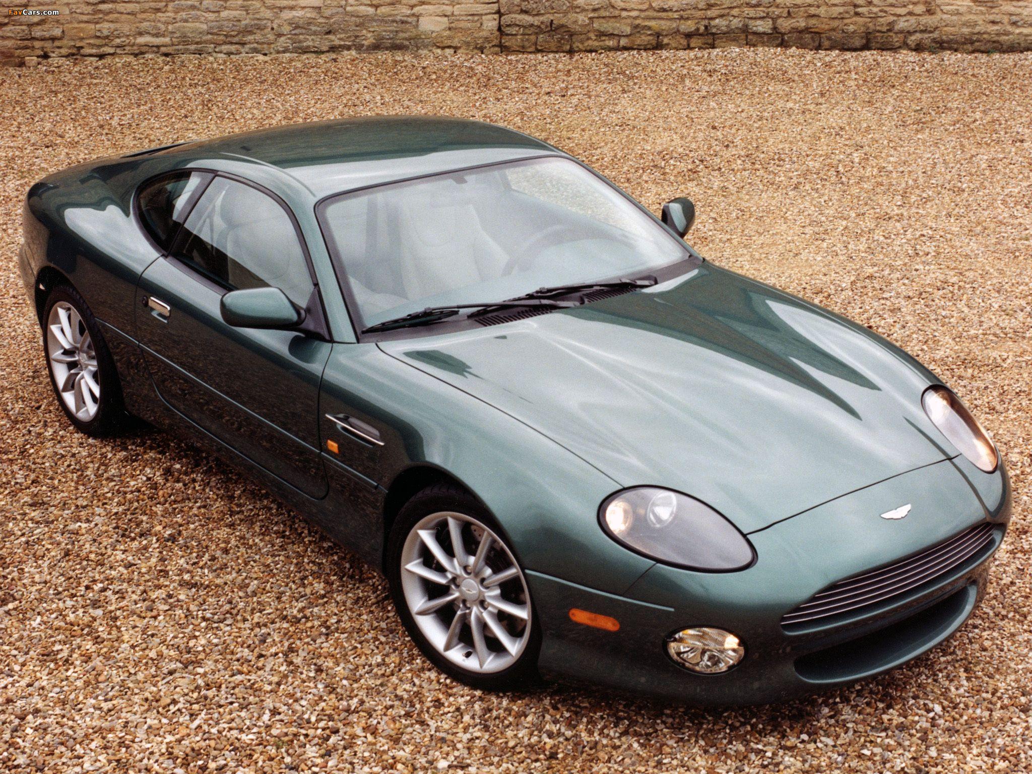 Aston Martin DB7 Vantage Interior