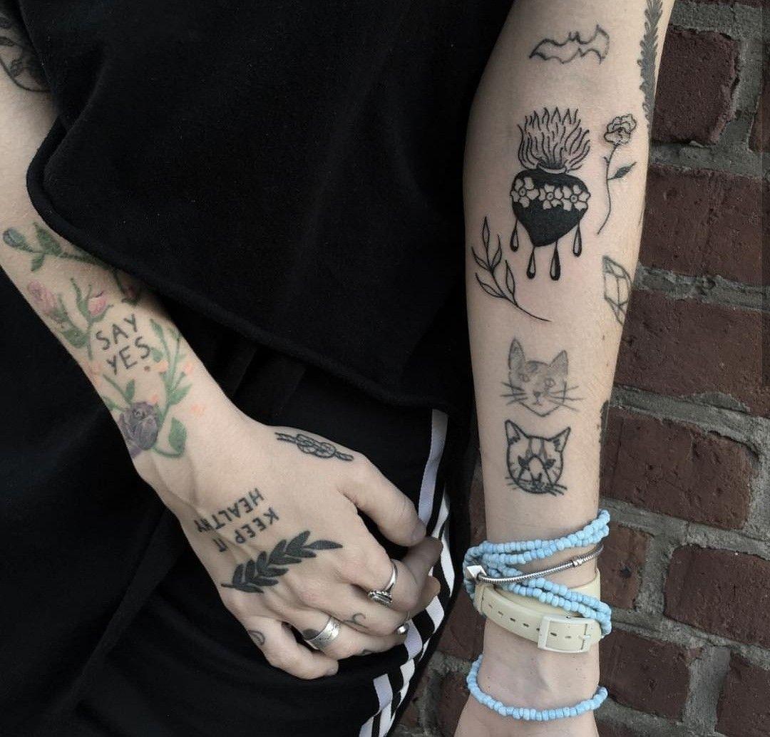Joji Tattoo: Pinterest: Caitiharper Insta: Caitiharper