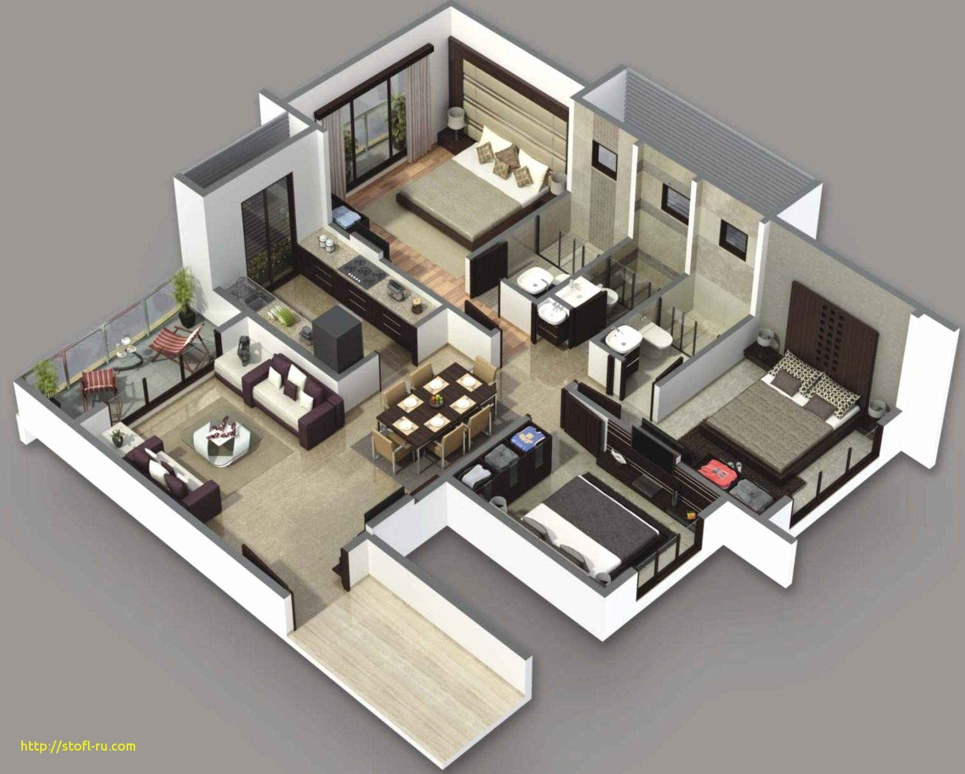 Modern Small House Plans Under 1500 Sq Ft Modern Style House Design Ideas Smallhouseplans House Moder Simple House Plans 3d House Plans House Floor Plans