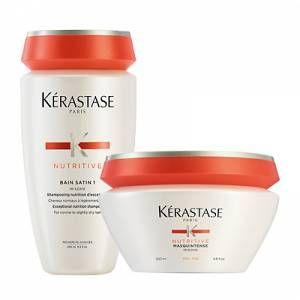 Kérastase Nutritive Satin 1 Shampoo & Masquintense Duo