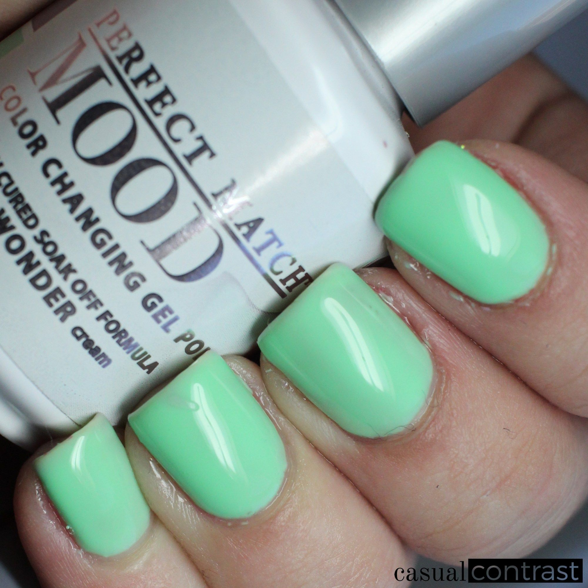 Lechat Island Wonder Warm State Perfect Match Mood Color Changing Gel Polish Swatches
