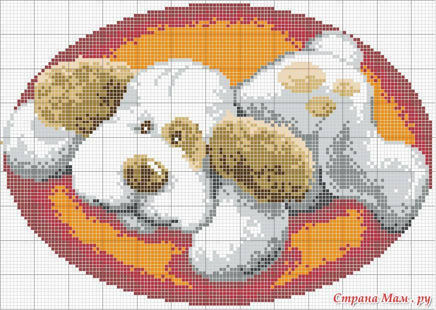 рисунки для ковровой техники схемы увеличенные