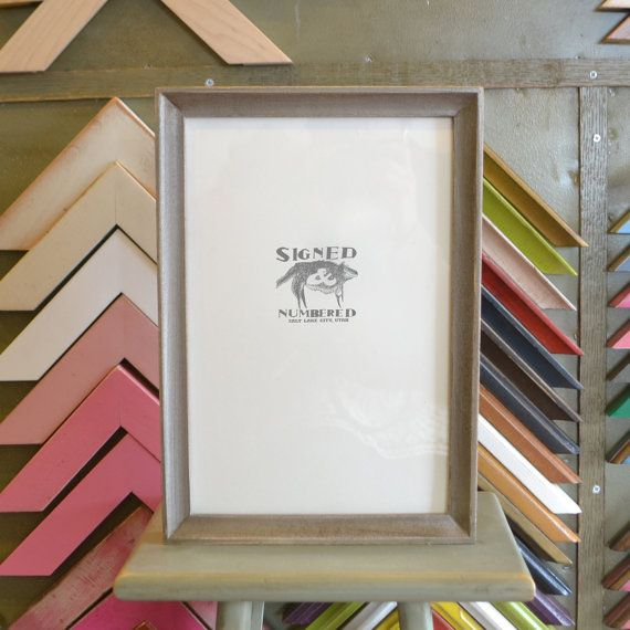 8x12 Inch Picture Frame In Foxy Cove Style By Signedandnumbered Frame Picture Frames Pictures
