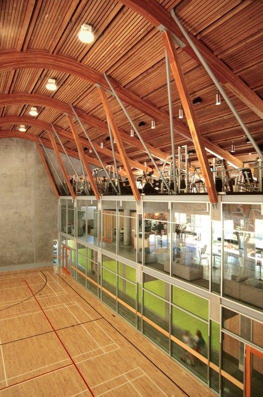 Gallery Of Gleneagles Community Center Patkau Architects 2 Sports Facility Architecture Gymnasium Architecture Futuristic School