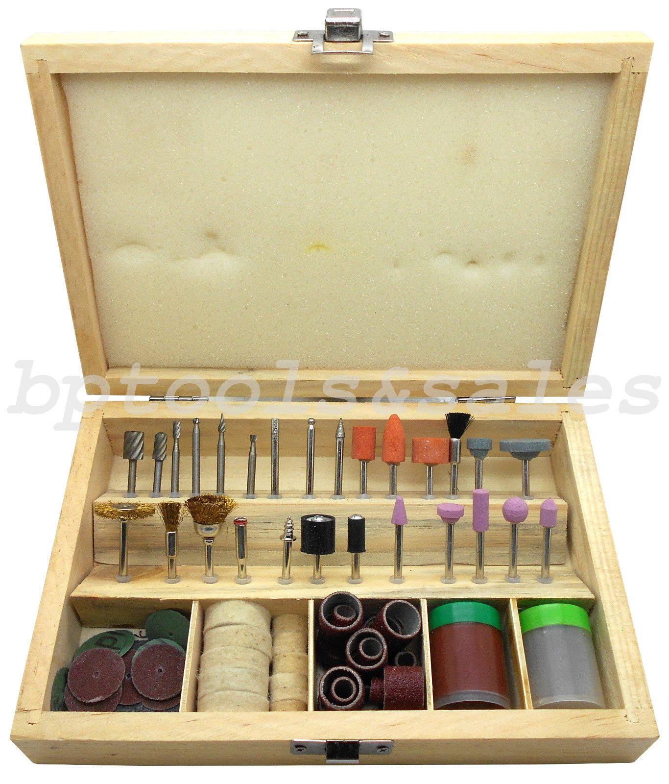 Sanding Polishing Cutting 100pc Universal Rotary Accessory Tool Kit For Dremel