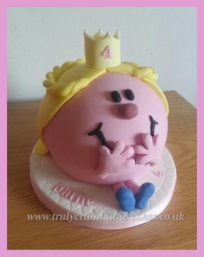 Little Miss Princess Cake By Trulycrumbtious торты и о тортах - Little miss birthday cake