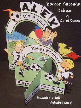 Soccer cascade deluxe on Craftsuprint - View Now!