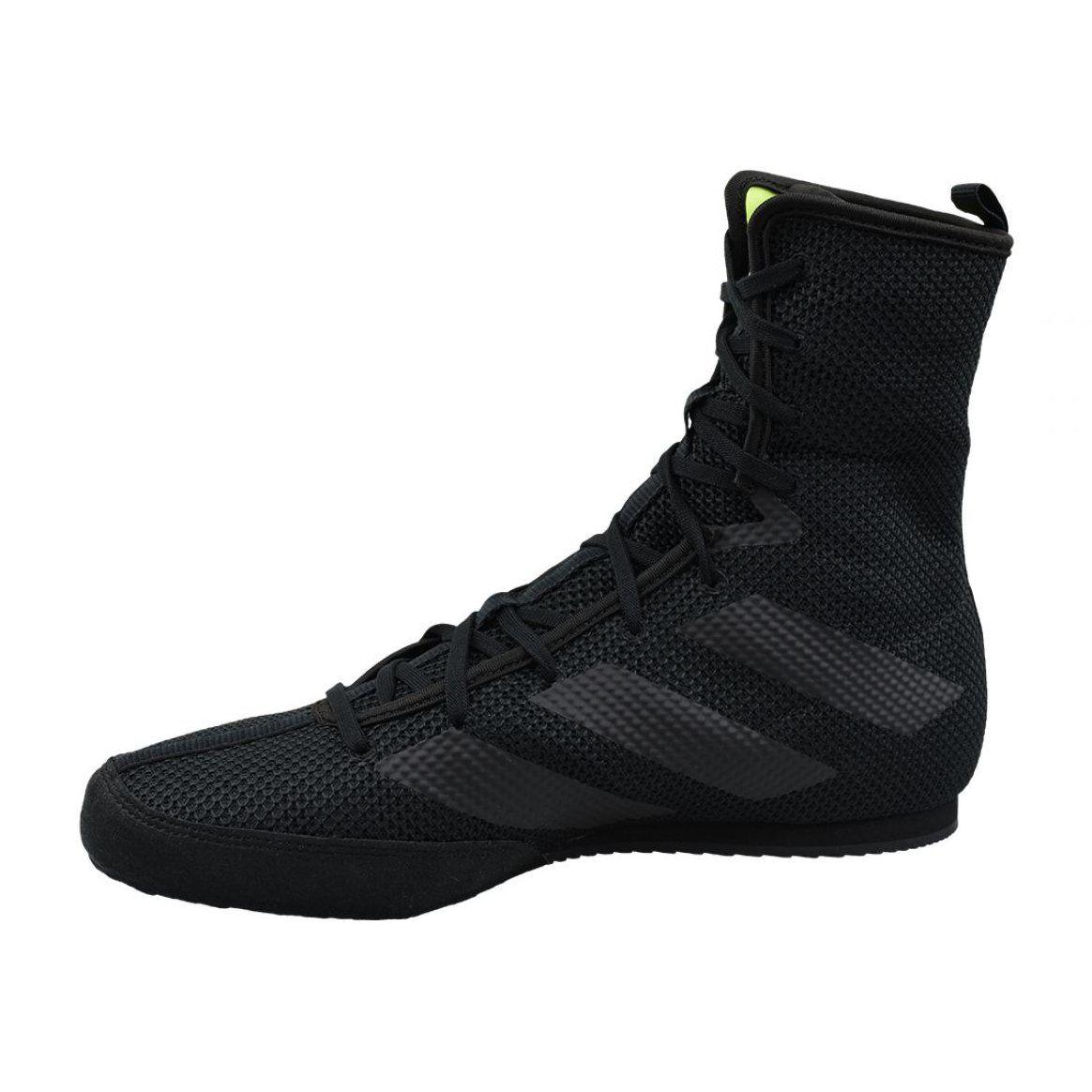 Buty Adidas Box Hog 3 F99921 Czarne Black Shoes Sports Shoes Adidas Boxing Shoes